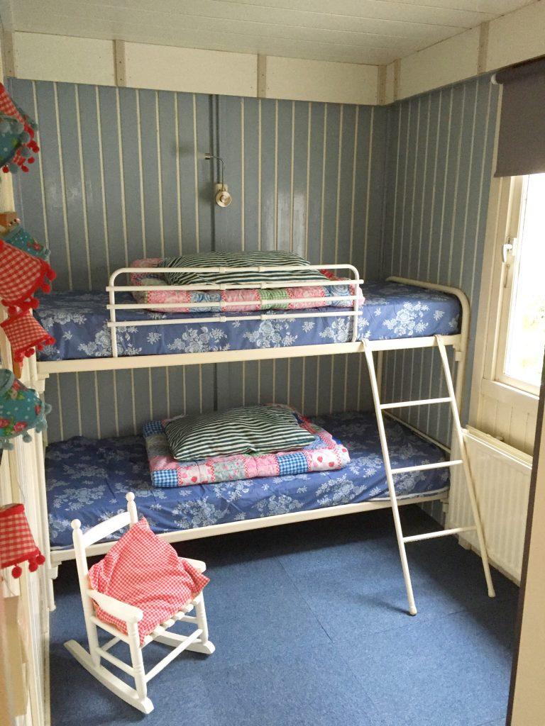 vakantiehuisje wit - Slaapkamer twee